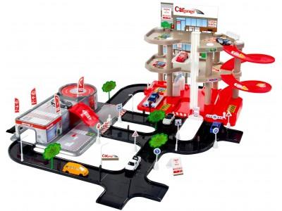 Mochtoys Parking Garaż 3 Poziomy Serwis
