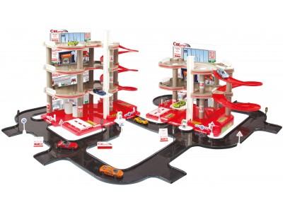 Mochtoys Garaż Parking Dla Dzieci 4 Poziomy