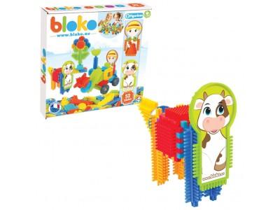 Mochtoys Klocki Jeżyki Pin Bricks 52 el w Kartoniku Farm Bloko