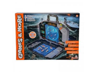 Noris  Elektroniczna gra w  statki okręty z efektami świetlnymi i dźwiękowymi