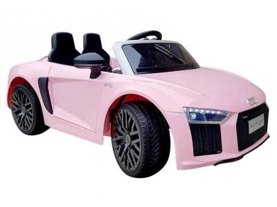 Auto na Akumulator Audi R8 Spyder Różowe