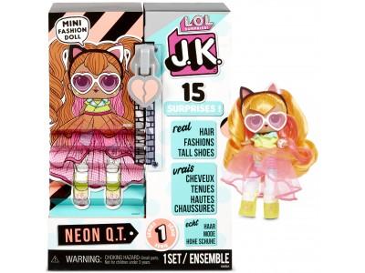 MGA L.O.L. Surprise J.K. Doll- Laleczka Neon Q.T.