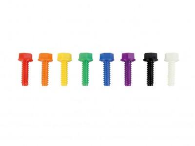 Kolorowe Śrubki Do Tablicy Kreatywnej Naukowej Masterkidz 512 Sztuk Miks Kolorów