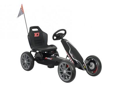 Gokart na Pedały Ferrari  Czarny
