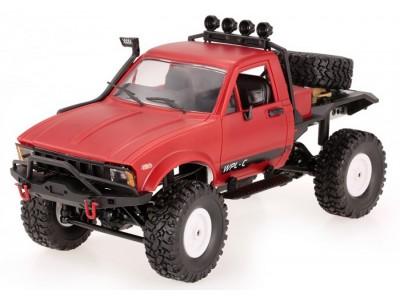 Samochód OFF-ROAD WPL C-14 (1:16, 4x4, 2.4G, LiPo) - Czerwony