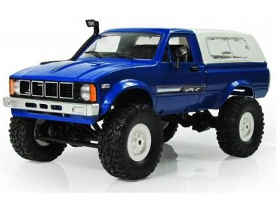 Samochód OFF-ROAD WPL C-24 (1:16, 4x4, 2.4G, LiPo) - Niebieski