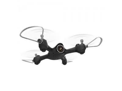 Syma X23W (kamera FPV WiFi, 2.4GHz, żyroskop, auto-start, zawis, zasięg do 25m, 21cm) - Czarny