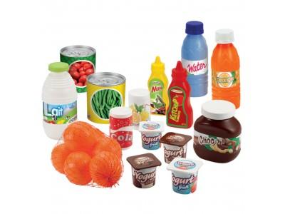 Ecoiffier Zestaw Produktów spożywczych 20 elementów