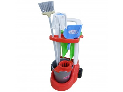 Wader QT Wózek Do Sprzątania Asystentka z Akcesoriami