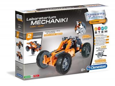 Laboratorium Mechaniki - Łazik i Quad Clementoni