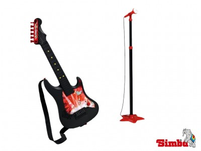 SIMBA My music World Gitara z mikrofonem