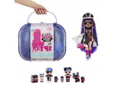 LOL Bigger Winter Disco Surprise Walizka z lalką