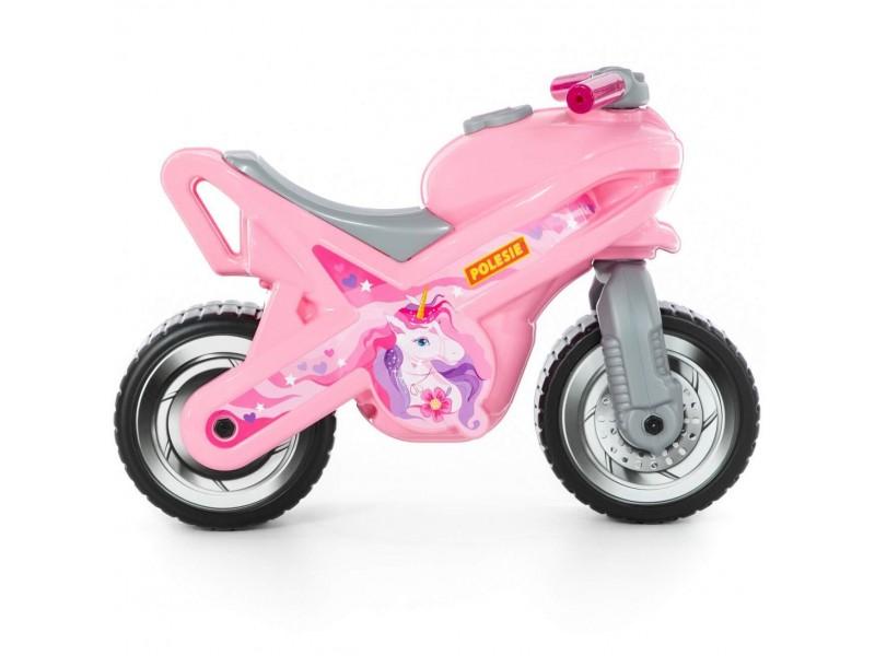 Wader QT Jeździk Motor MX Różowy