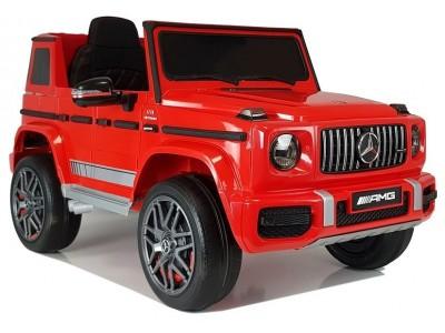 Auto na Akumulator Mercedes G63  Czerwony
