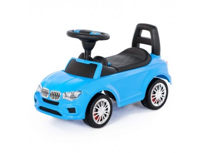 Wader QT Samochód Jeździk Super Car Niebieski