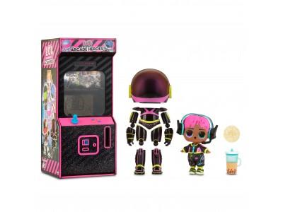 L.O.L Surprise Boys Arcade Heroes V.R. Dude lalka w automacie do gier