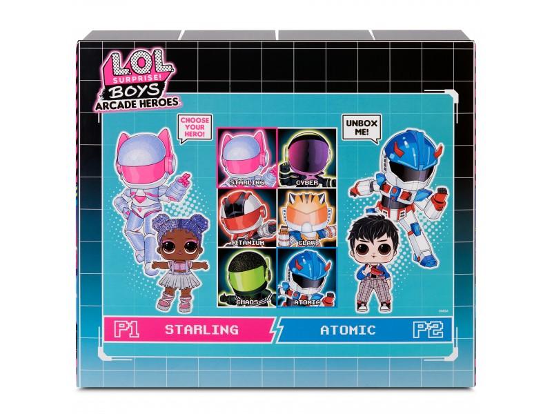 L.O.L Surprise Boys Arcade Heroes Bhaddie Bro lalka w automacie do gier