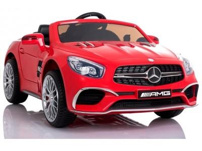 Pojazd na Akumulator Mercedes SL65 LCD Czerwony