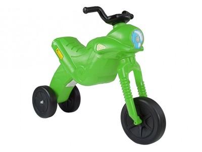 Motorek Biegowy Trójkołowy Enduro Jeździk Zielony 5046 47 cm wys