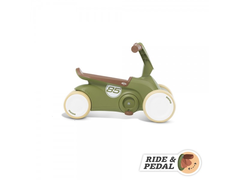 BERG GO2 Gokart Jeździk Rowerek 2w1 Retro Green