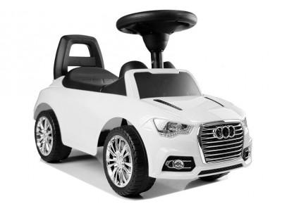 """Samochód Jeździk """"SuperCar"""" Nr2 z Dźwiękiem 84552 Biały"""