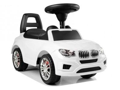"""Samochód Jeździk """"SuperCar"""" Nr3 z Dźwiękiem 84538 Biały"""