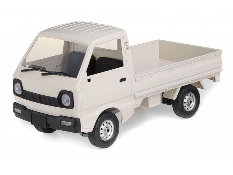 Ciężarówka WPL D-12 1:16, 4x4, 2.4GHz - srebrna