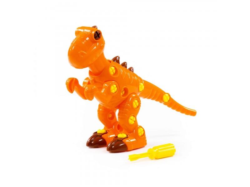 WADER QT Klocki Dinozaur Tyranozaur ze Śrubokrętem 40 el.