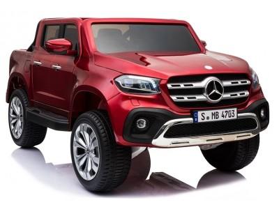 Pojazd na Akumulator Mercedes X Czerwony Lakierowany