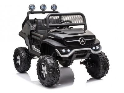 Pojazd na Akumulator Mercedes Unimog S Czarny Lakier