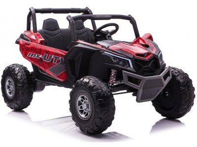 Auto na Akumulator Buggy UTV-MX Czerwony Spider Lakier