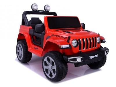 Pojazd na akumulator FT-938 czerwony