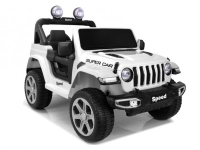Pojazd na akumulator FT-938 biały