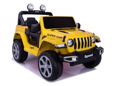 Pojazd na akumulator FT-938 żółty