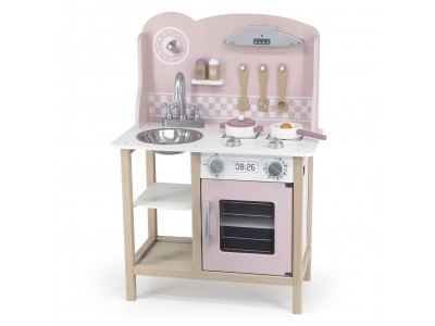 VIGA PolarB Kuchnia z Akcesoriami Silver - Pink