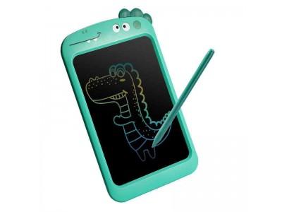 """WOOPIE Tablet Graficzny 10.5"""" Dinozaur dla Dzieci do Rysowania Znikopis + Rysik"""