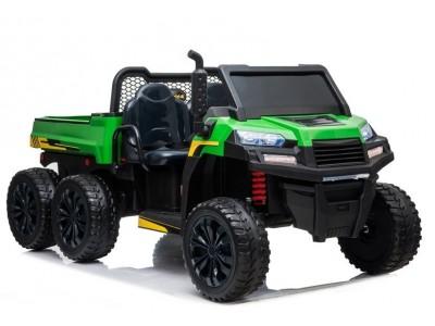 Pojazd na Akumulator A730-2 Zielono-Czarny
