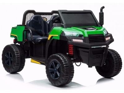 Pojazd na Akumulator A730-1 Zielono-Czarny