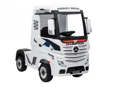 Auto na Akumulator Mercedes Actros Biały