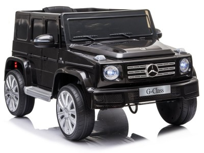 Samochód na akumulator Mercedes G500 czarny