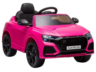 Samochód na akumulator Audi RS Q8 różowy