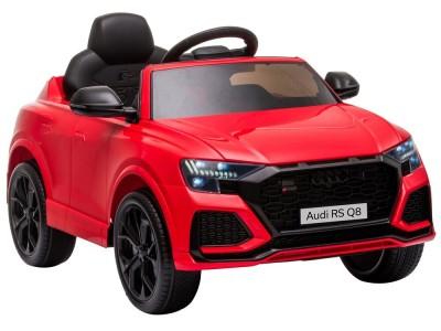Samochód na akumulator Audi RS Q8 czerwony