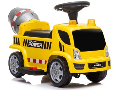 Jeździk na Akumulator GTS6688-D Betoniarka żółta