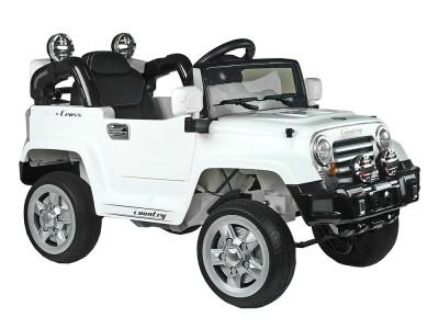 Auto na Akumulator Jeep JJ245 Biały